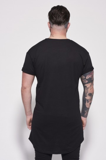 Essential Longline Black Back