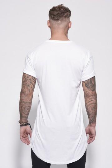 Longline White Back