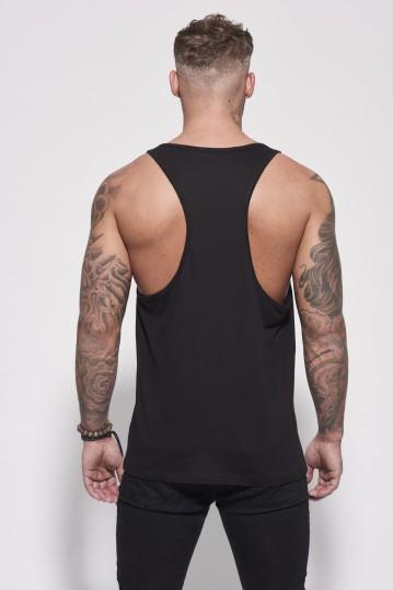 Vest Black Back